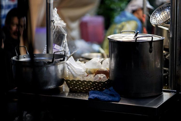 STREET FOOD // CHINA TOWN Close-up Container Cup Drink Focus On Foreground Food Food And Drink Household Equipment Kitchen Utensil Metal No People Refreshment Still Life Street Food Wellbeing EyeEmNewHere