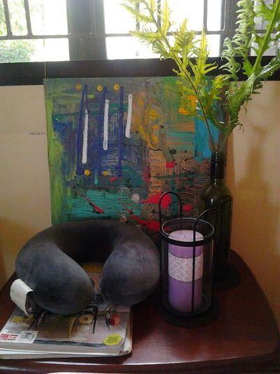 table arrangement in home :-)