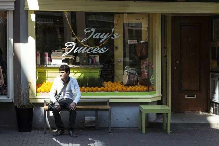 The City Light Orange Juice Sun Light Sunlight Day Outdoors Oranges Fruit Amsterdam Colour Your Horizn