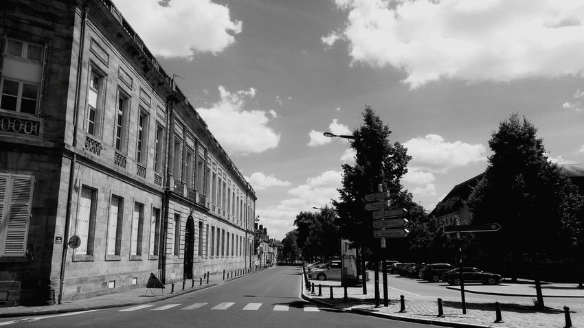 Architecture Built Structure Cloud - Sky Day Black And White Black & White Blackandwhite Politics And Government No People Tranquility