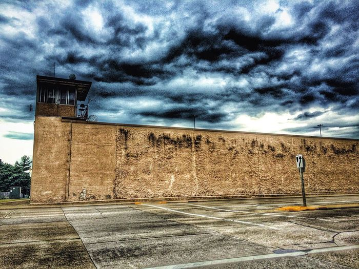 Allouez Green Bay  Wisconsin Reformatory Urban Photography Urban Landscape Urbanphotography Urban Geometry Urbanscape Afternoon Blues Sky And Clouds Architecture Cityscapes Incarceration Prison NetFlix Original Making Of Murderer Steven Avery