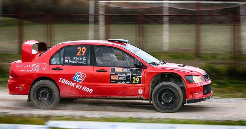 Shakedown Rally Santa Domenica 2017, Croatia , Sveta Nedelja LancerEvo Canon 70-200 F2.8 L IS-II Car Mitsubishi Evo Panning Red Santa Domenica Rally Speed Transportation Wrc
