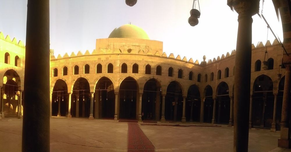 History No People Sky Architecture Day Sunset Travel Destinations City Mosquee Egypt Eslam Moslem Cairoegypt