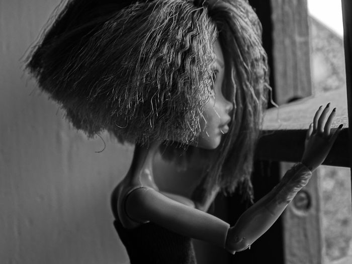 Black & White Monsterhighphotography Barbie Monsterhighdolls Portrait Close-up