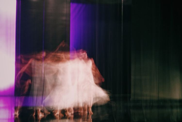 Curtain Night Real People One Person Indoors  Performance Illuminated Dance Photography Movement Photography White Dancing Light And Shadow The Week On EyeEm EyeEm Ready