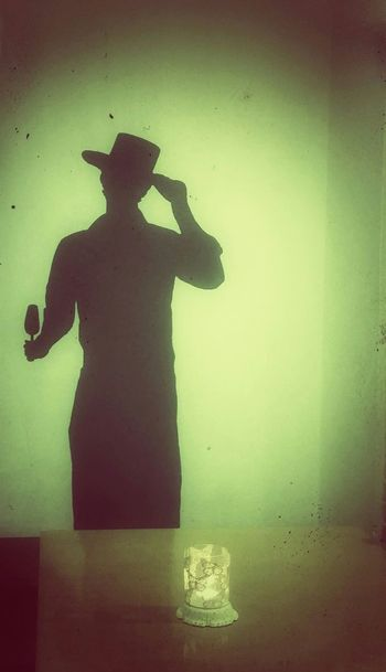 Arte cordobés sombreado... Sombras flamenco vino