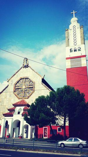 Notre Dame des missions. Church Asian Architecture Religion Original
