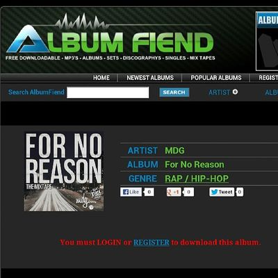 Top of the Morning Tunein Fornoreason http://www.albumfiend.com/album/336755/MDG_For-No-Reason