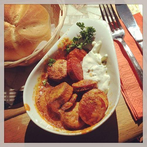 Currywurst-Verkostung