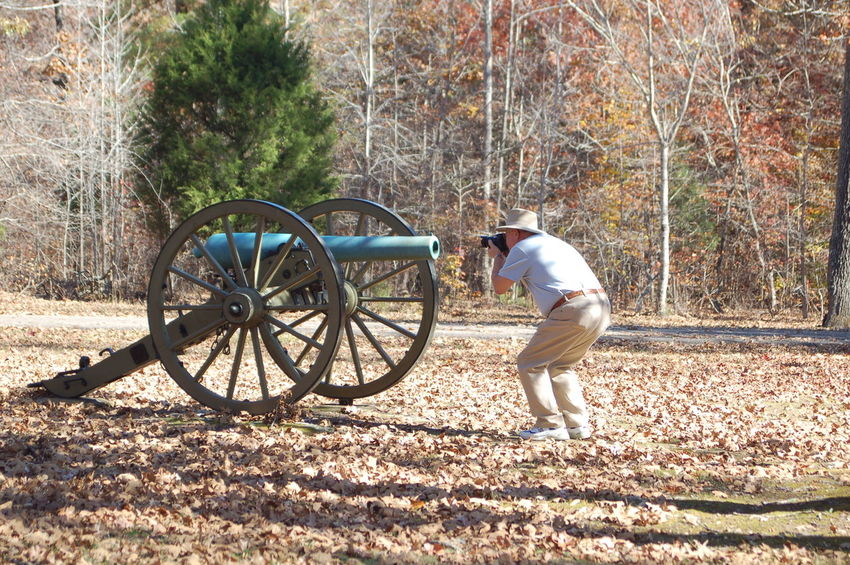 Cannon Full Length Men Nature One Person Outdoors Photographer Side View Tree