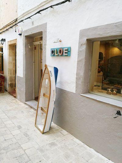 Cloe Shop Cuitadella Old Town Menorca Boat Shops