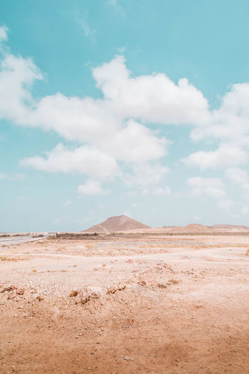 Oman Chapters Cloud - Sky Sky Scenics - Nature Environment Land Landscape Tranquil Scene Desert Tranquility Beauty In Nature Non-urban Scene Day Nature Arid Climate Climate No People Remote Mountain Barren Outdoors Salt Flat