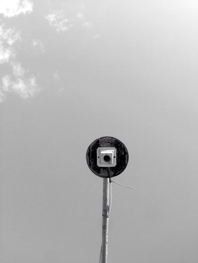 EyeEm Selects Lamp Blackandwhite Iphoneonly Sky PhonePhotography