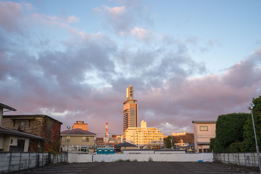 Architecture Building Building Exterior Cloud Cloud - Sky Cloudy Local Miyagi Parking Residential District Sendai Sendai-shi Sky Sunrise