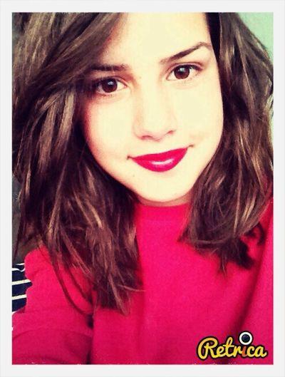 Red Lips Beautiful Girl ??