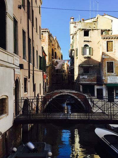 Venice Architecture Built Structure Day Canal Water Outdoors No People Daylight Town Travel Destinations Enjoying Life Daytime Photography From My Point Of View Architecture Italy