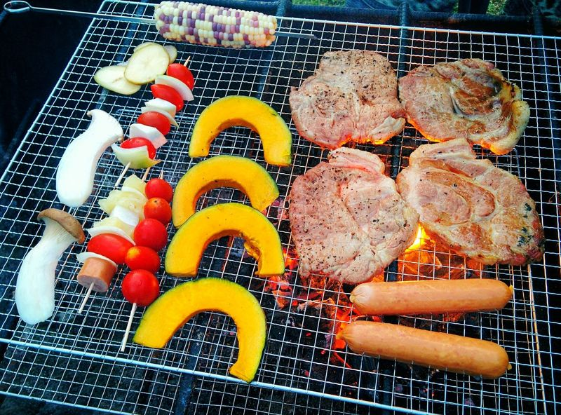 BBQ Meat! Meat! Meat! Party Meat Vivid Colorful