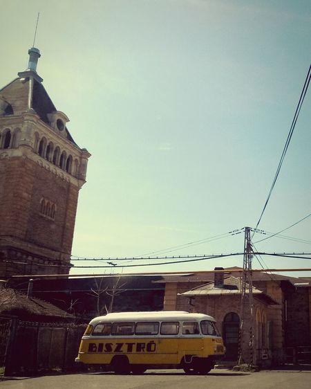 Slaughterhouse Bistro Car Bus Oldtimer Retro Vintage Robur Forgotten Places  Budapest
