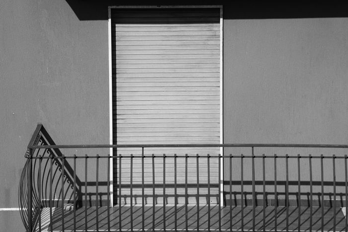 EyeEm Selects Architecture Built Structure Railing Day No People Metal
