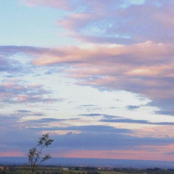 Sky #horizon #cloudporn