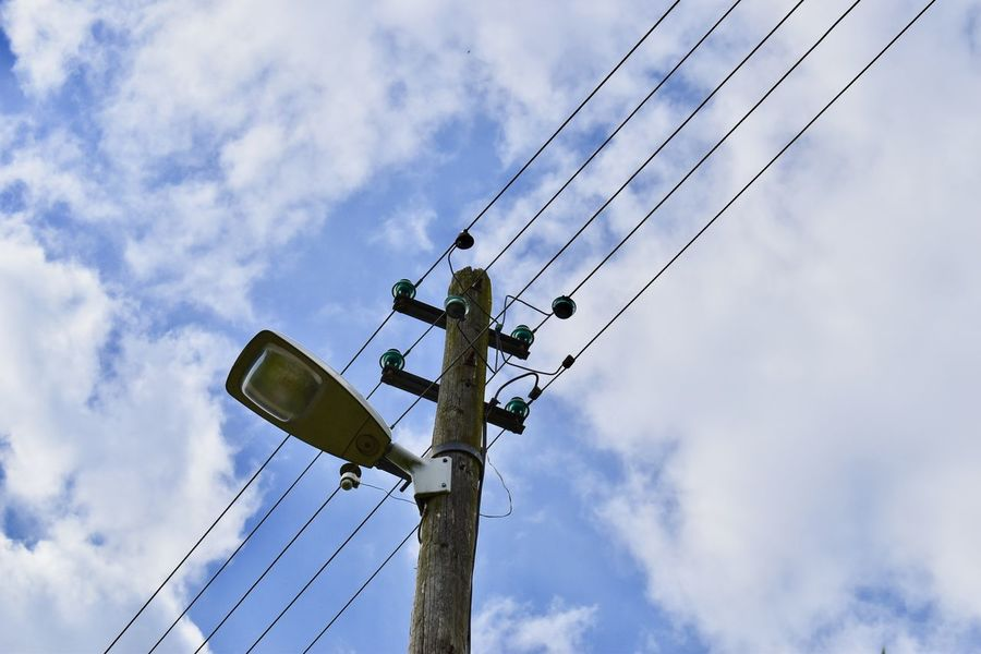 Germany's digitalization concept Cable Cloud - Sky Connection Digital Electricity  Electricity Pylon Eye4photography  Fuel And Power Generation Low Angle View Minimalism Power Line  Power Supply Sky Sky And Clouds Tadaa Community Taking Photos Technology Telephone Line Waling Around