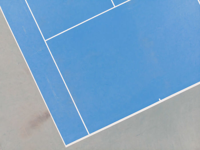 Tennis court EyEmNewHere Drone  Dronephotography Dji DJI X Eyeem Capture Tomorrow Aerial View Winter Tennis 🎾 Tenniscourt Lines Vapor Trail Sport Clear Sky Blue Airshow Airplane Pattern Sky