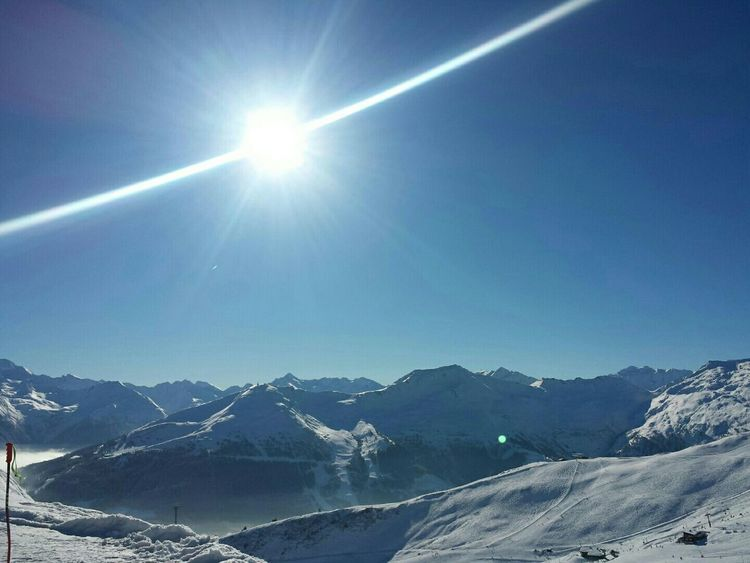 Mountain Nature Winter Nature Sun_collection Winter Wonderland Mountains And Sky Ski☀️