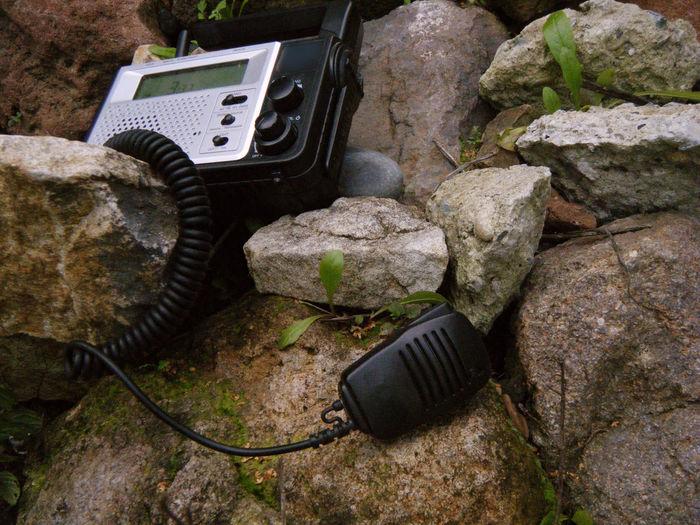 Taking Photos Portable Radio Radio CB Radio Perspective Communication Old School Technology Outdoors Camping Gadget 2 Way Radio Mic Push To Talk Whatever