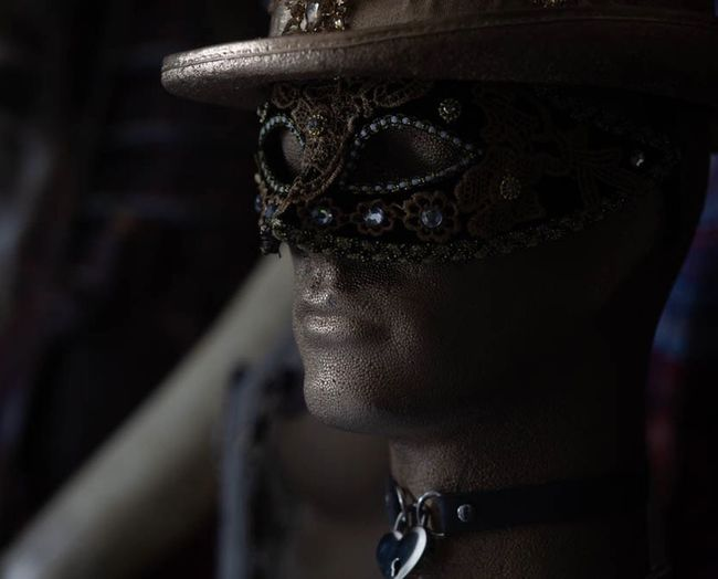 Mask Headshot