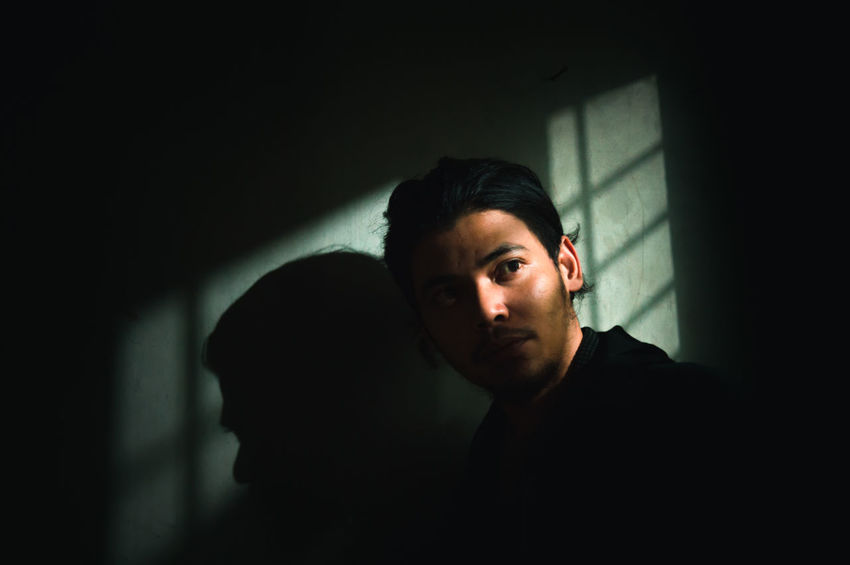 ASIA Asian  Cool Man This Is Masculinity Close-up First Eyeem Photo Indoors  Indoors  Light And Shadow Men Model One Man Only One Person Only Men People People Photography Portrait Real People Serious Shadow Shadows Young Adult Young Men