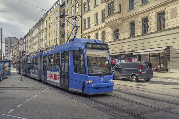 Tram, Munich,