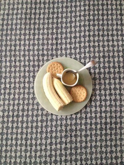 When You Can't Eat Chokolate ?? Banana Honey Hello World Food