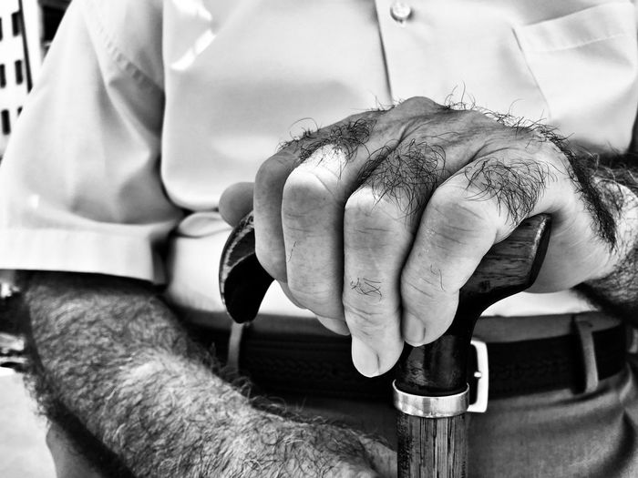 Human Hand Human Body Part Human Finger Real People Senior Adult Men Holding One Person Close-up Lifestyles Working Adult People Older  Old Alzheimer Care