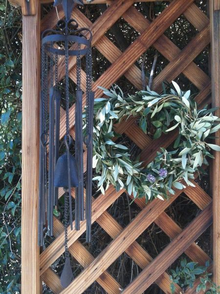 Olive wreath 3918095 My Garden @my Home EyeEm Selects Handicraft