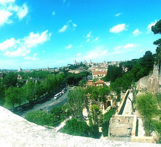 My Country In A Photo Roma Italy Orangegarden Giardinodegliaranci Panorama Scenary Stunning Bestplaceever Rome