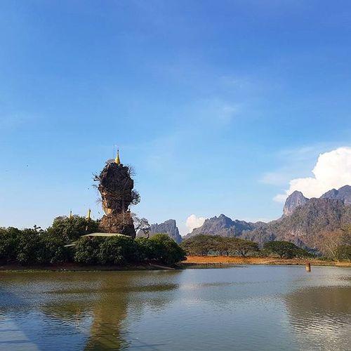 Igersmyanmar Myanmar AOV Artofvisuals Mobilephotography Mobilephoto Burma Kayinstate Kayin Mountain Stonemountain Pagoda Lake Asiaonetravelsnaps Photooftheday Instagood Instaclickoftheday Instaclickoftheweek Yourworldgallery Travelgood Vacationinstyle