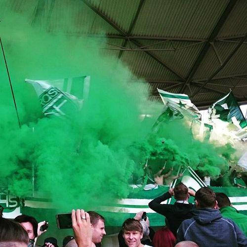 Werder SVW Football Pyro