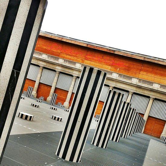 Architecture HDR Perspectives Buren Palais Royal Monument Historique