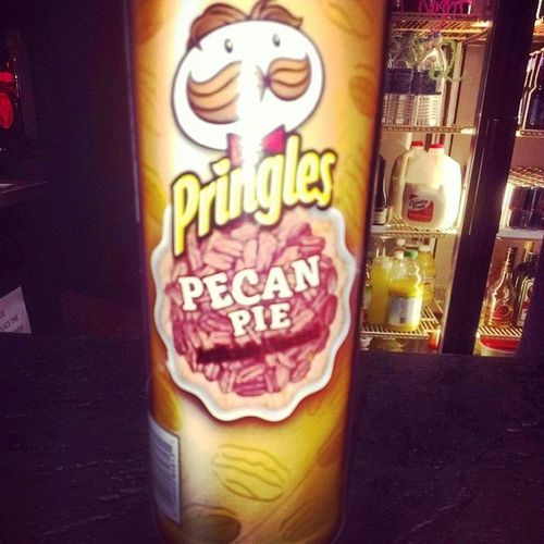 WTF? GROSS! Pringles Ridiculouschipflavor Pecanpie