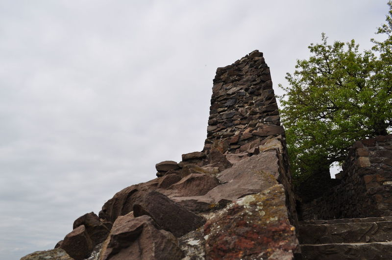 Day Low Angle View No People Outdoors Rock - Object Rock Formation Sky