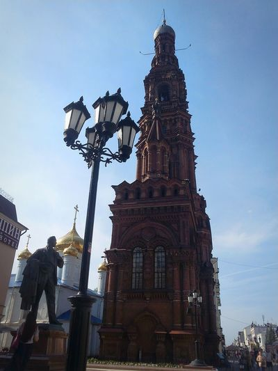 Город Казань,улица Баумана Architecture Travel Travel Destinations Tourism No People Sky Day Outdoors Statue Religion татарстан City казань Vacations