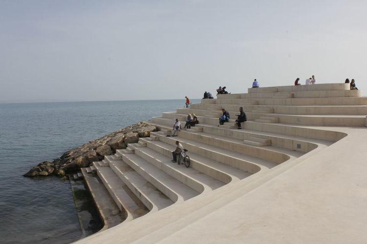 Stairs... Sky