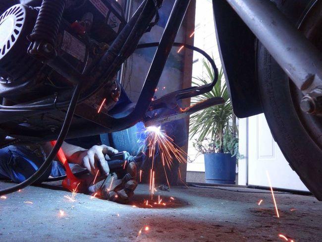 Welding Welding Work Welding Sparks Welding Mask Welding Helmet Weld Weldporn Welder Garage Automotive Shop Fabrication Fabricator Engineering Engineer Metal