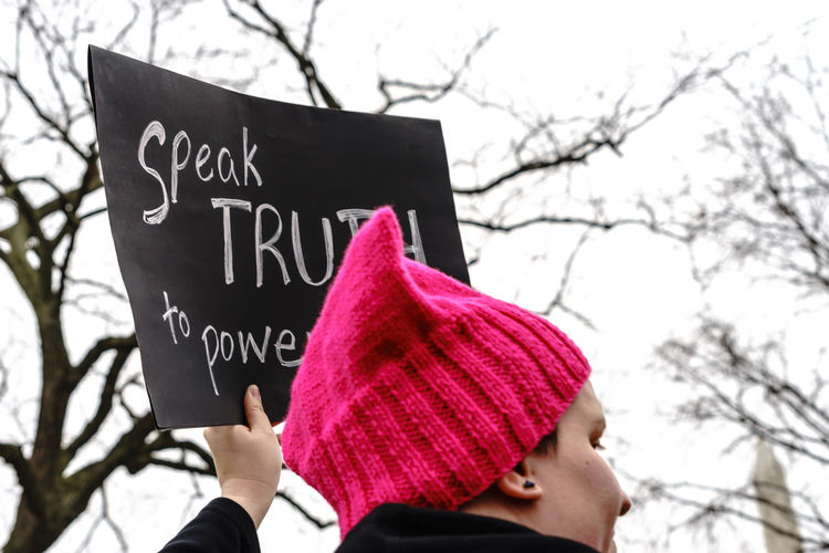 Activism America Anti Day Democracy Demonstration Feel The Bern Fight Protest Revolution Sign Trump USA Washington Washington, D. C. We The People Women Women March Women March On Washington Women's March Uniqueness Women Around The World Women Around The World