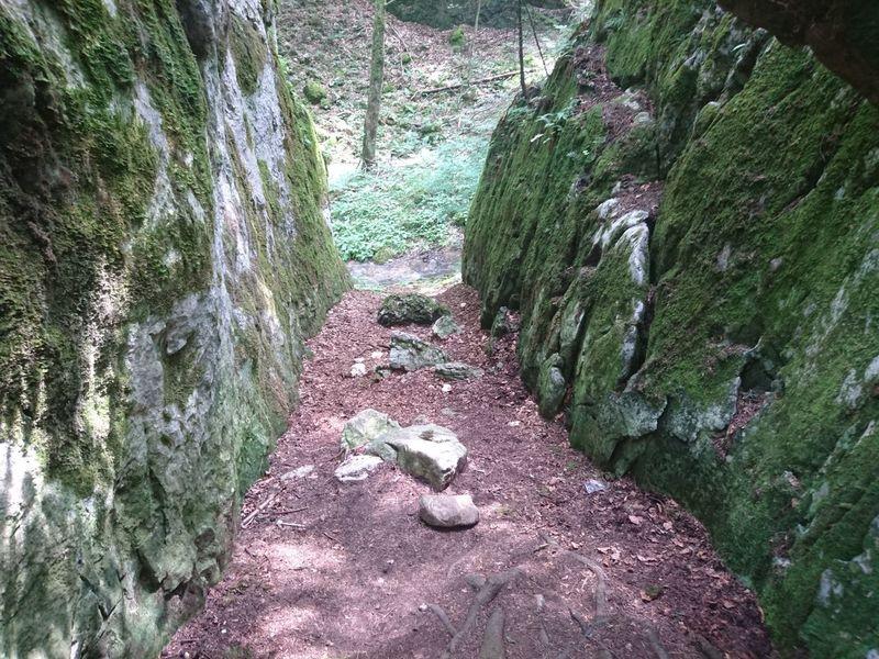 Nature Rocks Hidden Path