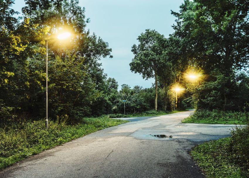 Streetphotography Minimalism Urban Landscape Concrete Night Lights Twilight