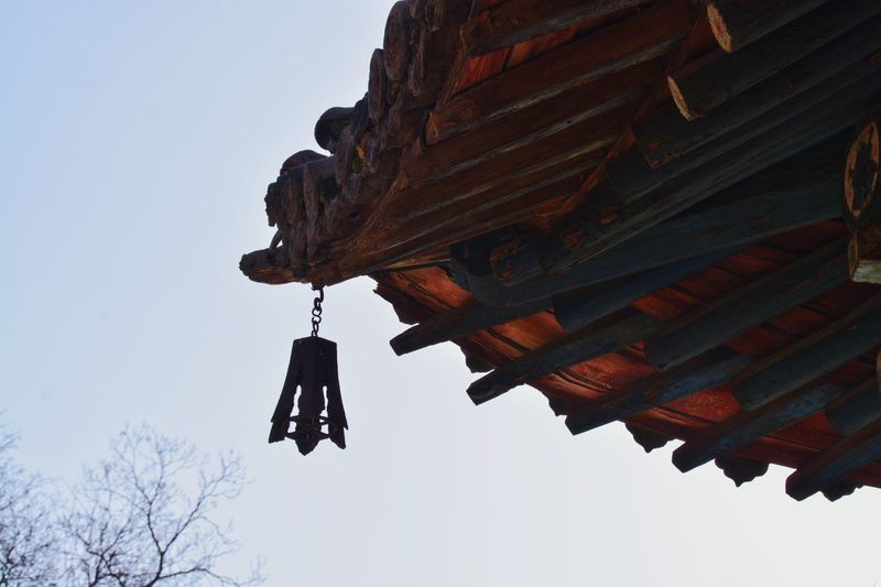 Bell hanging on