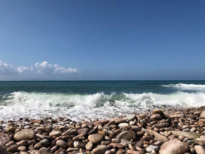 Tuscany Water Sea Beach Sky Beauty In Nature Scenics - Nature Land Pebble