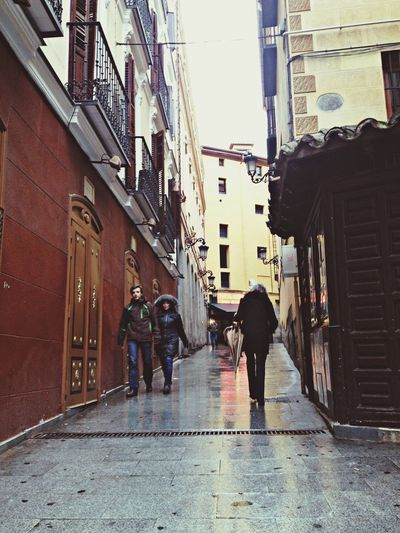 Street Of Madrid IPhone 4S Madrid Churreria San Gines