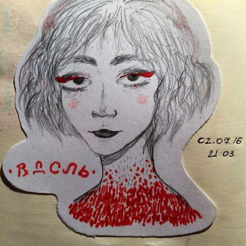 Art, Drawing, Creativity Hi! Sketchbook Art рисунок скетчбук грусть